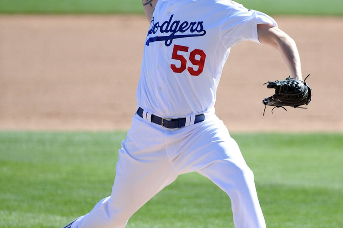Travis Schlichting is vying for a spot in the Dodger bullpen (<em>Photo: Harry How | Getty Images Sport</em>)