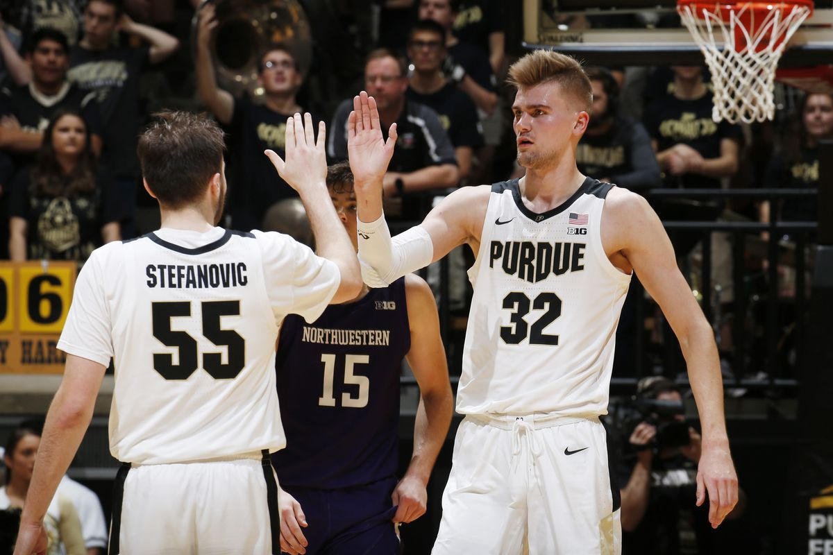 College Basketball Rankings December 16 Purdue Still