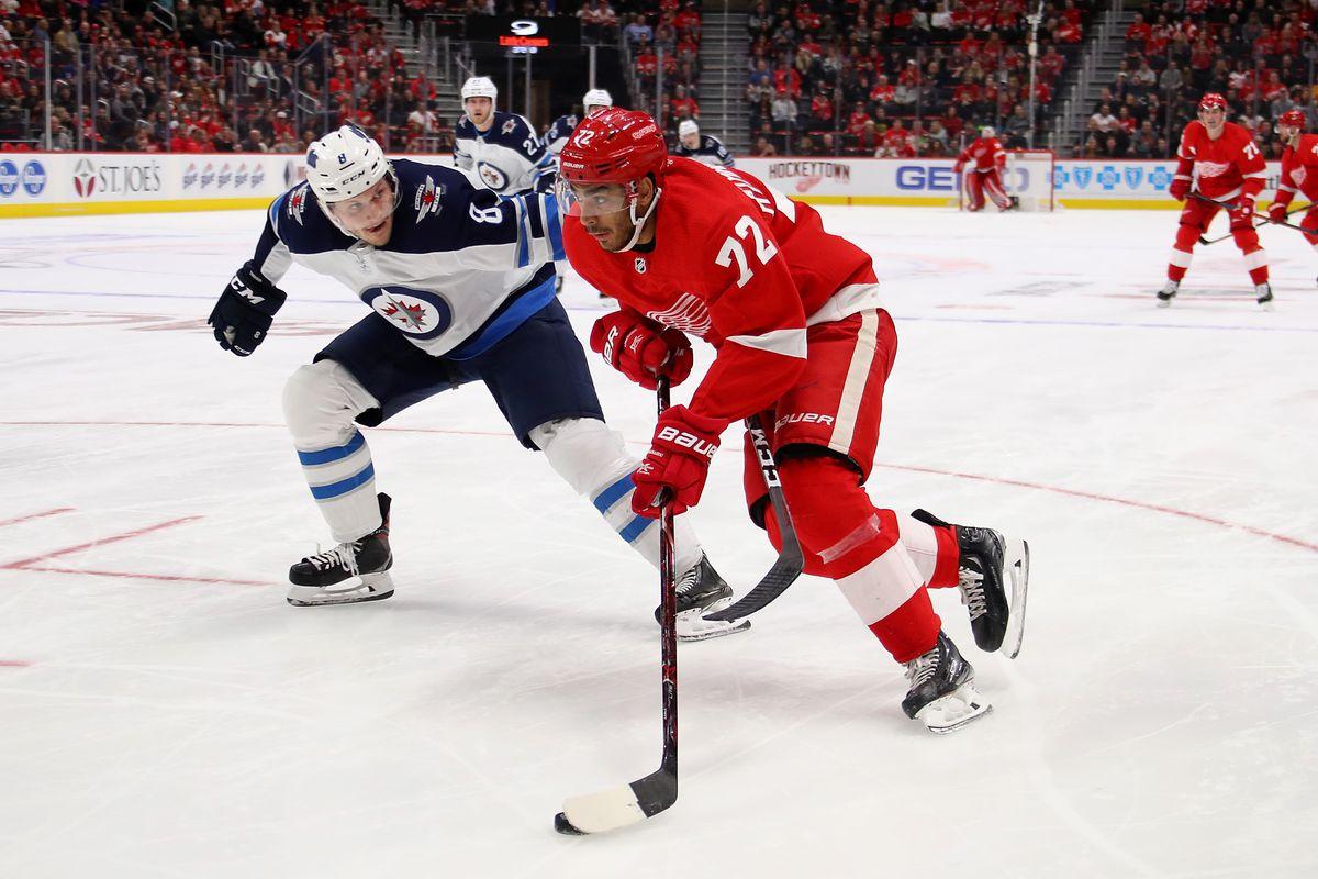 Winnipeg Jets v Detroit Red Wings