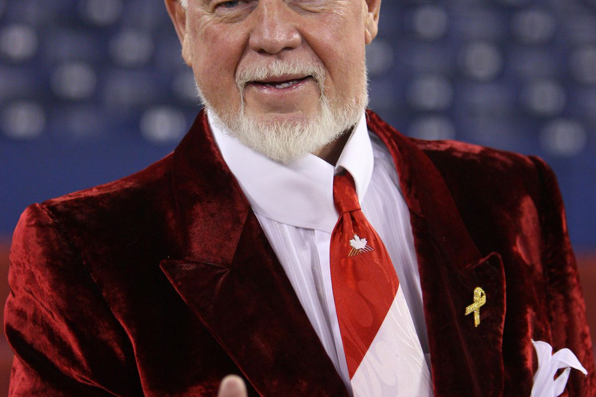 The wrath of Cherry was unleashed in the general direction of the Toronto Maple Leafs. Buy a poppy.