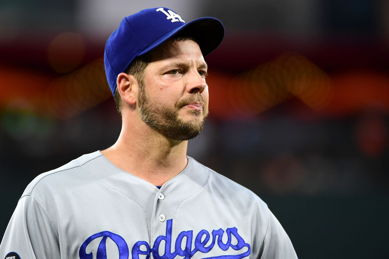 Rich Hill's injury could create conundrum for Dodgers' postseason rotation