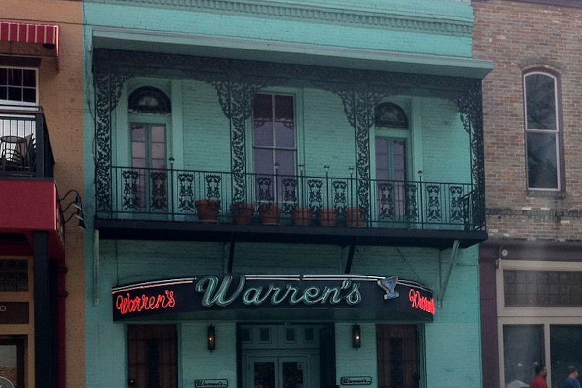 Click to enlarge. Warren's downtown.
