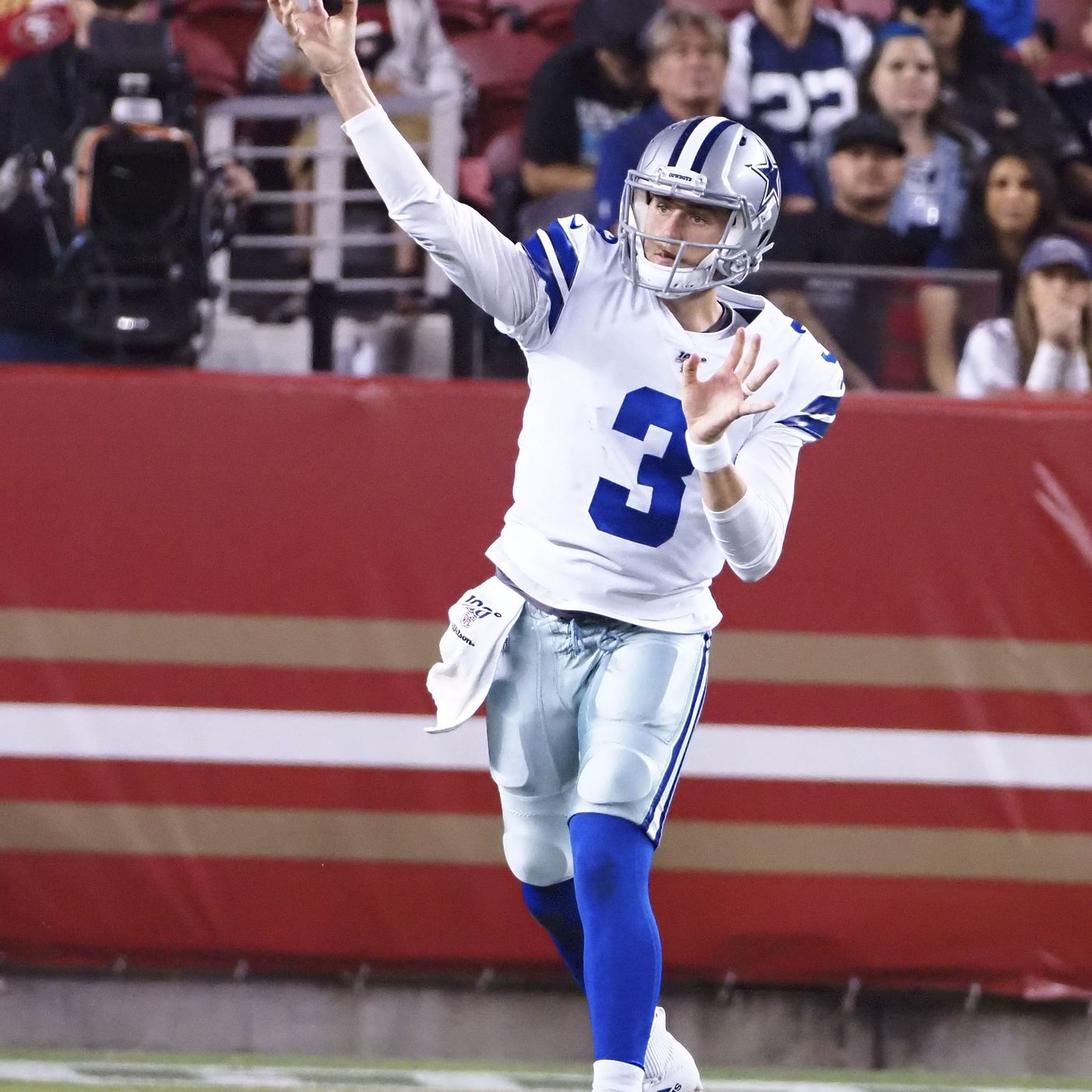 newest 8c424 e19db Are the Cowboys starting to move on from Mike White ...