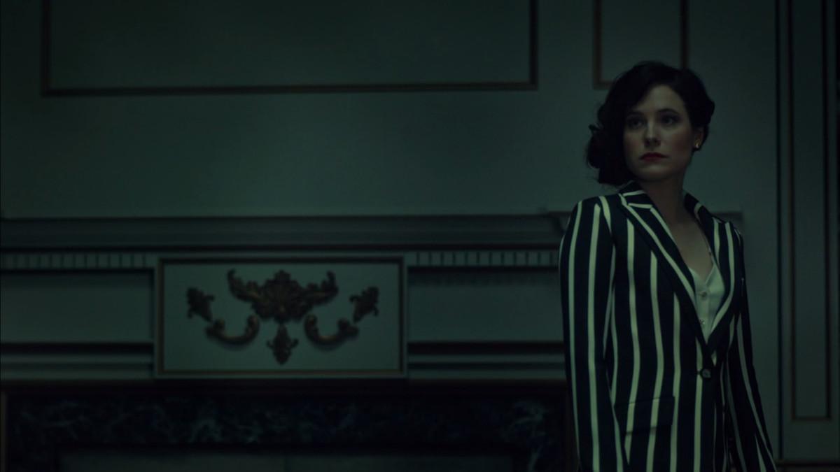Alana has a great costume on Hannibal.