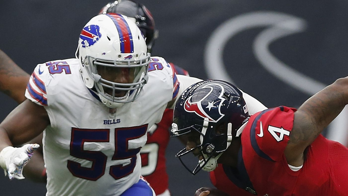 Jerry Hughes Buffalo Bills contract extension numbers and breakdown