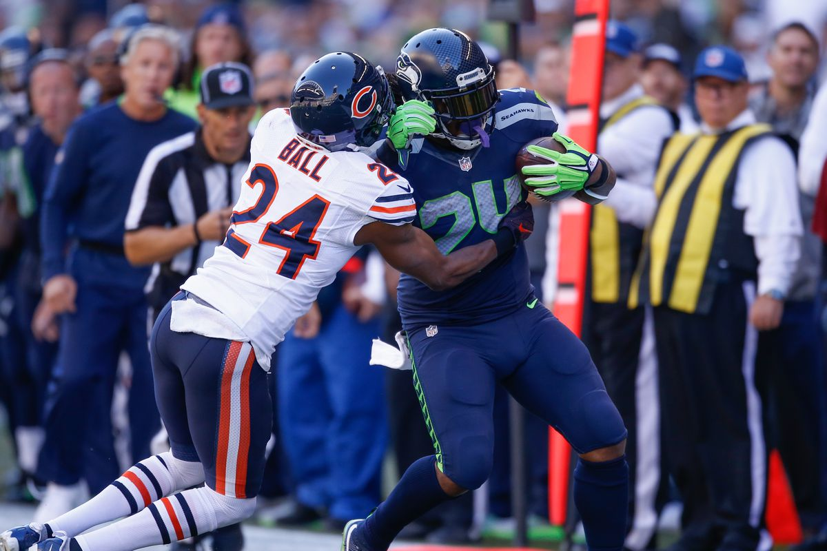 Monday Night Football Seattle Seahawks Chicago Bears Live Thread