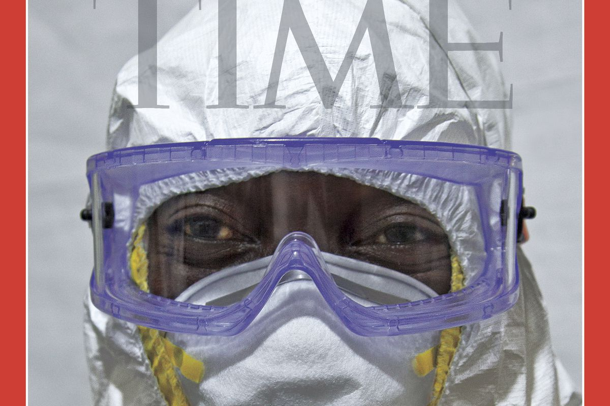 Time magazine's 2014 person of the year: the Ebola fighters.