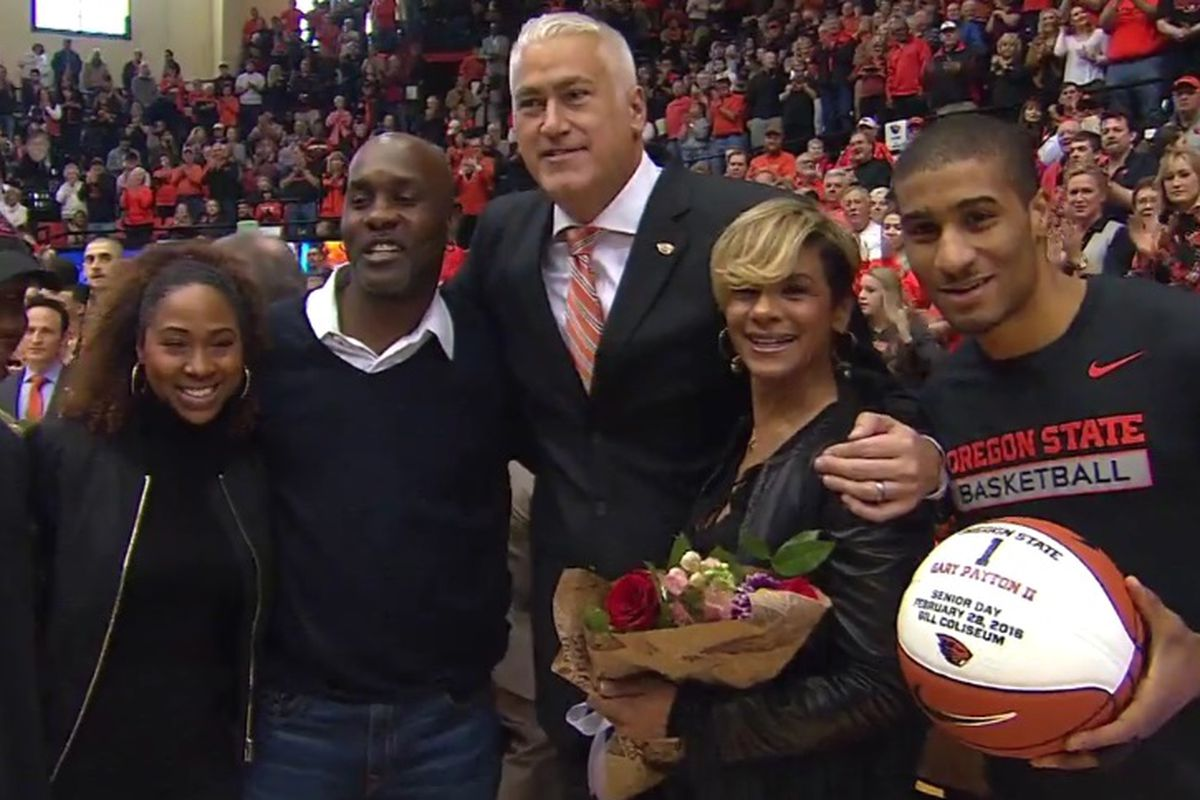 Senior Day was special for all concerned.