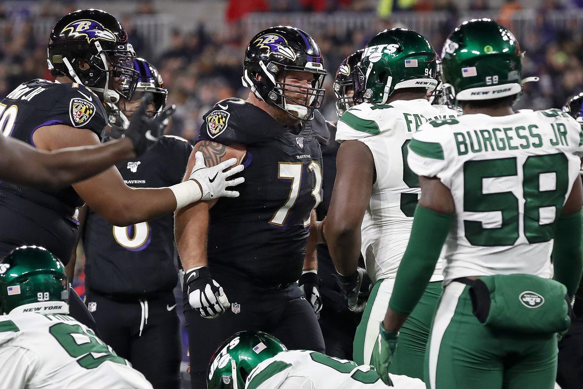 New York Jets vBaltimore Ravens