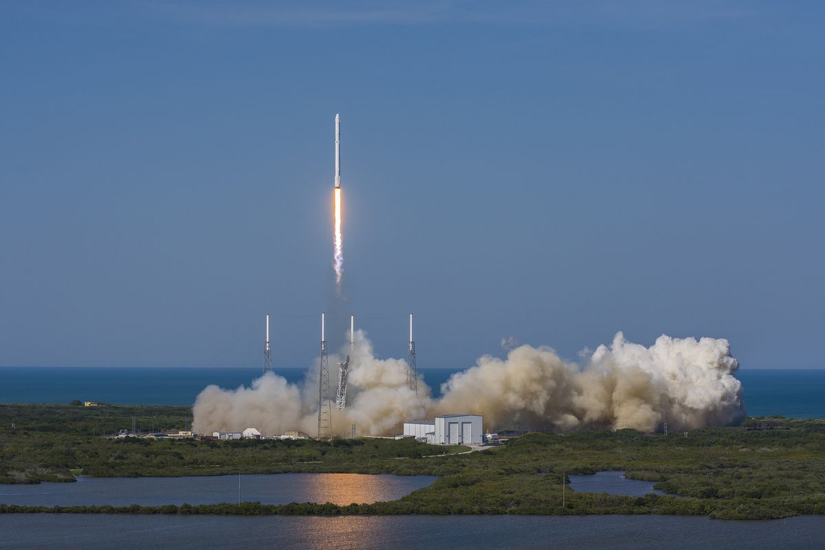 spacex successfully launched its falcon 9 rocket to the international space station on friday afternoon and at 7 23am et on sunday morning the crew aboard