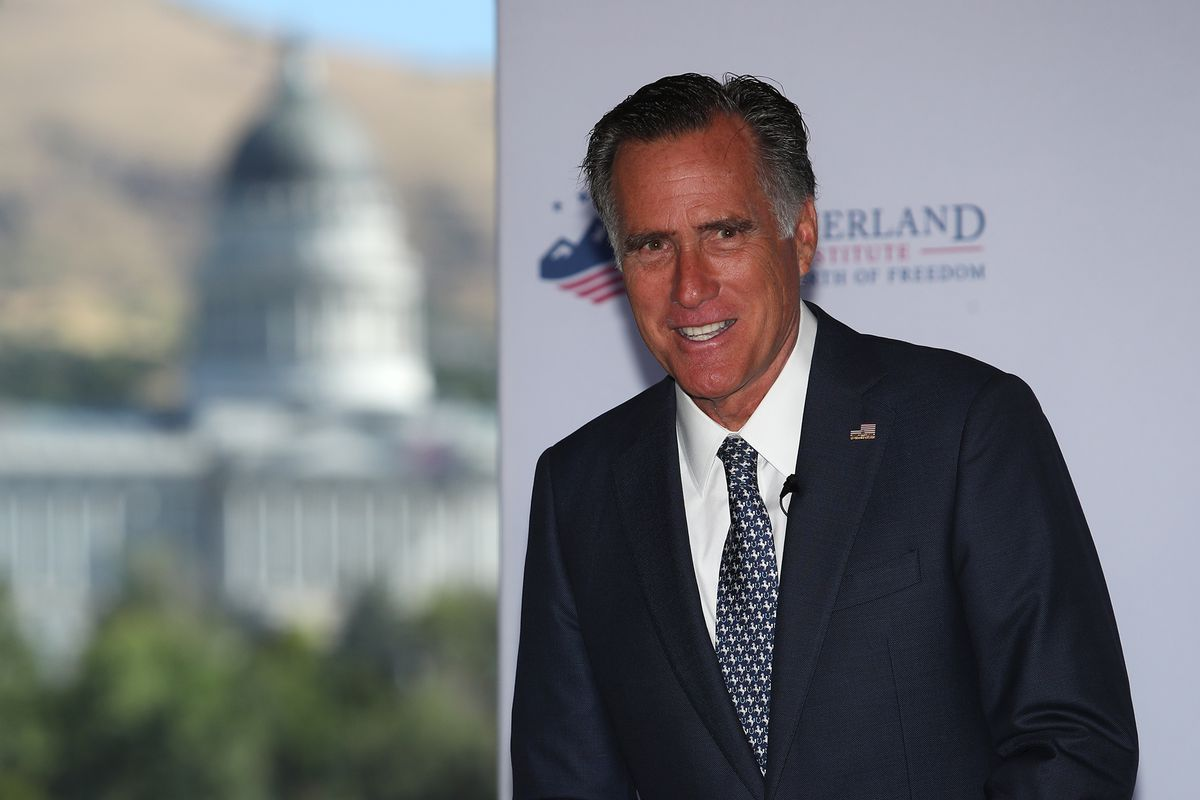 Mitt Romney joins bipartisan Senate climate change solutions group