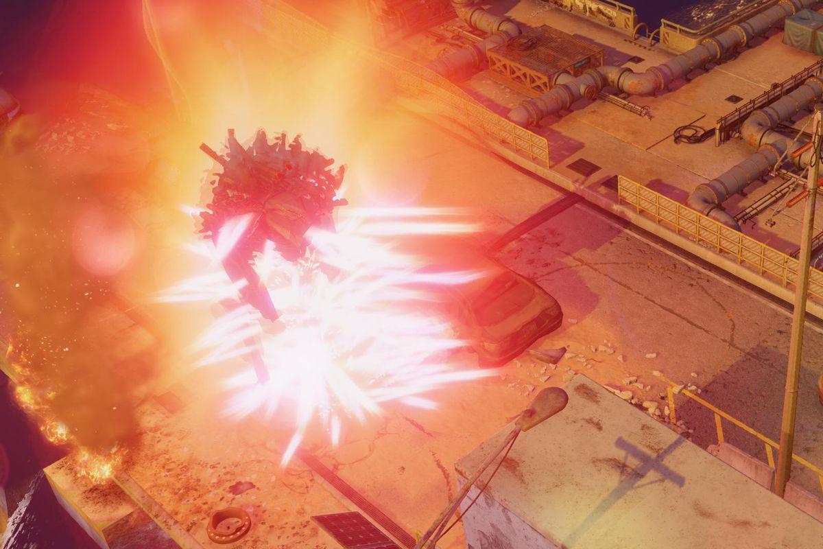 XCOM 2: War of the Chosen Tactical Legacy Pack - an explosion