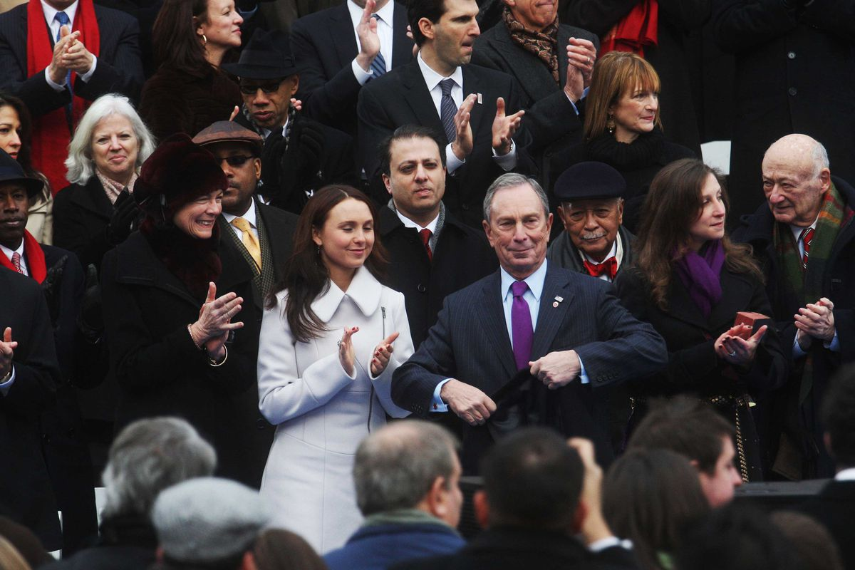 Bloomberg's third-term mayoral inauguration speech in 2010.