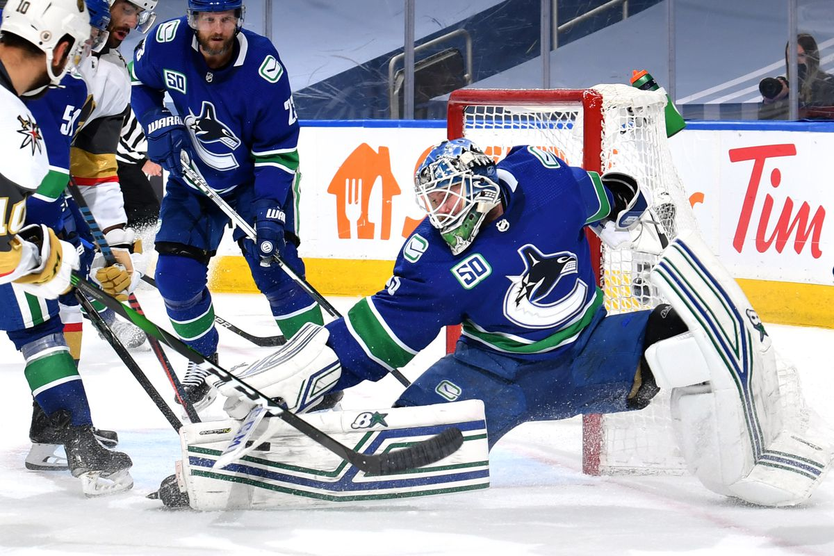 Canucks 4, Golden Knights 0: Thatcher Demko shuts out Vegas Game 6 - Knights On Ice
