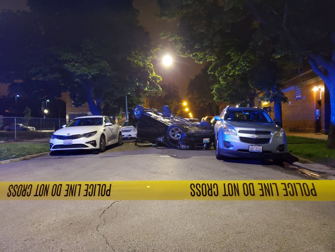 Officers found a man with a gunshot wound to his chest in the 7900 block of South Luella Avenue, June 17, 2019, in South Chicago.