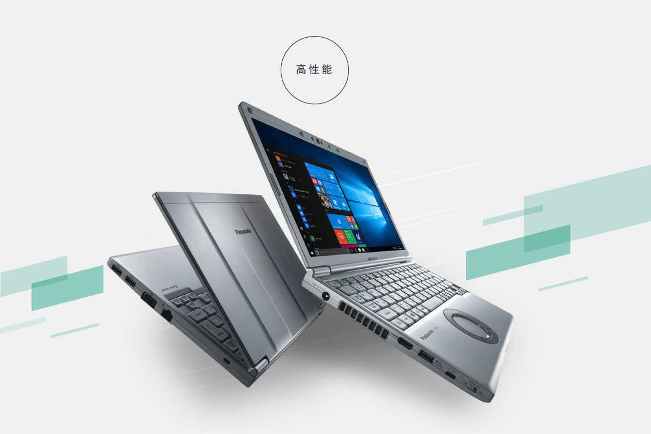 panasonic s let s note laptops are pure japanese business distilled into a brick