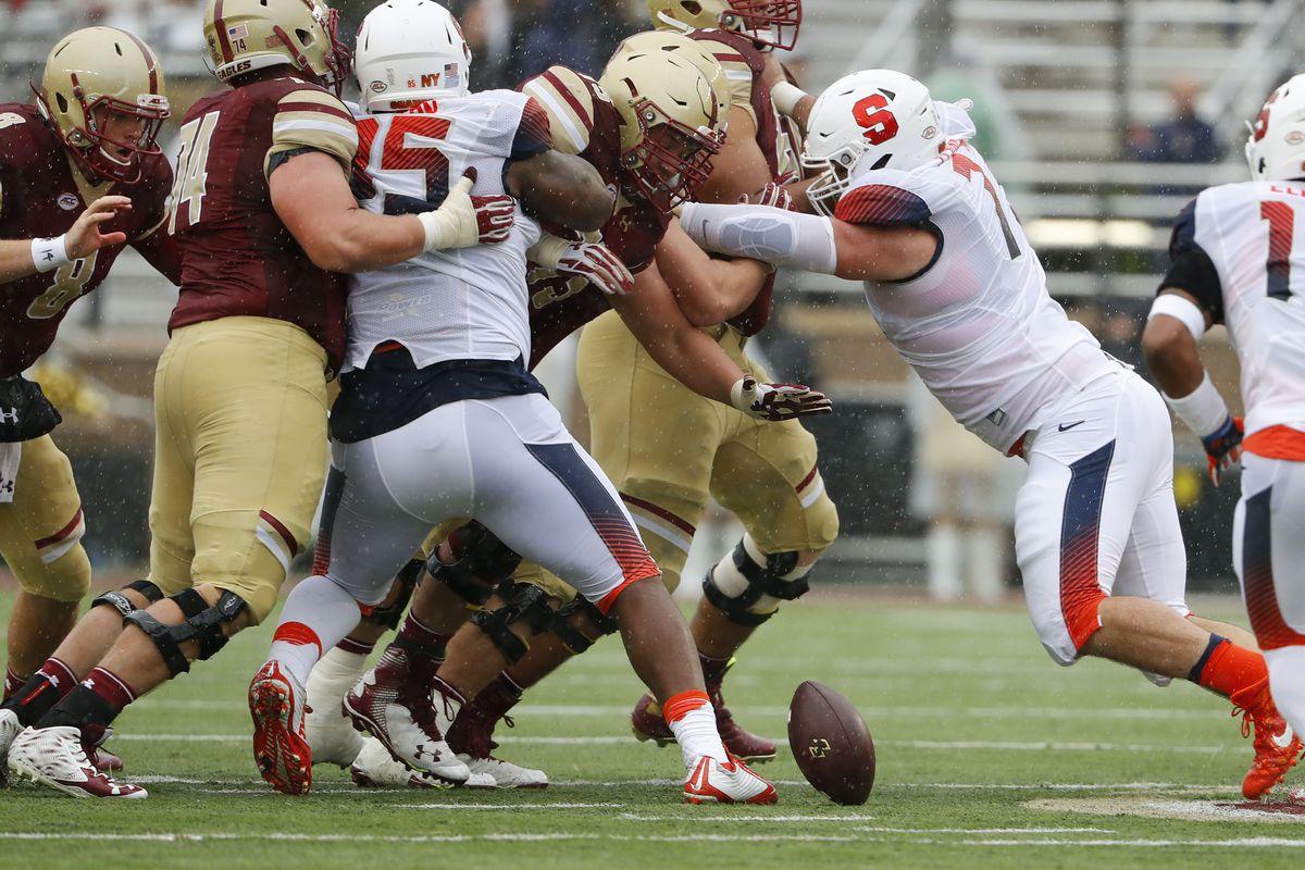 NCAA Football: Syracuse at Boston College
