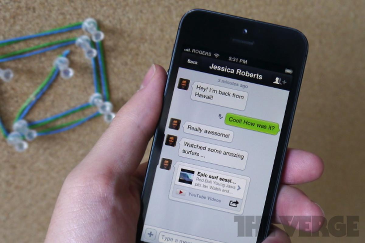 kik messenger for iphone
