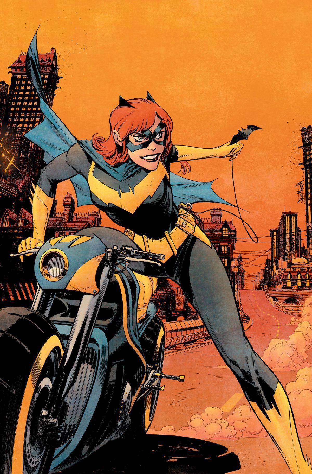 Dc Comics Debuts Batgirls New Costume  New Creative Team -4262