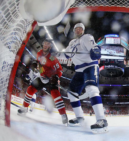 Victor Hedman is one of the more complete players in hockey. (Courtesy of Bruce Bennett/Getty Images)