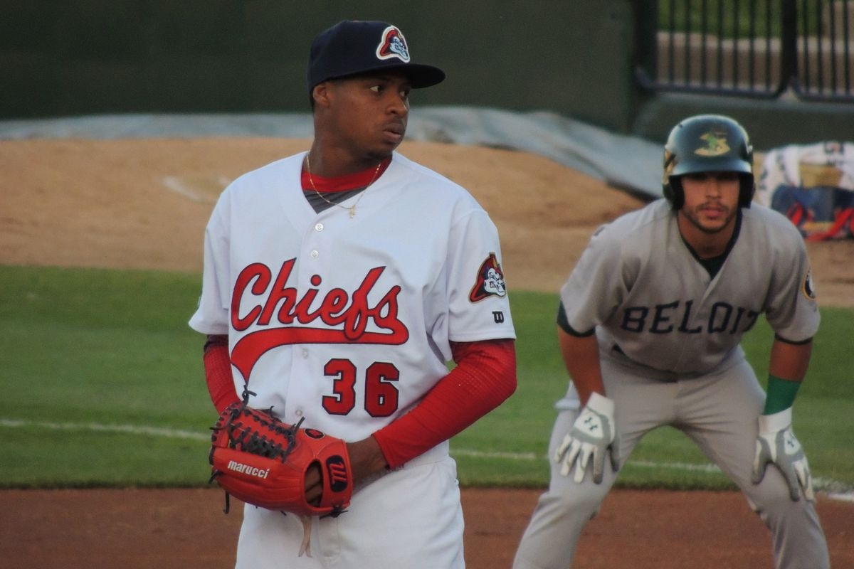 Luis Perdomo (36) was named as an injury replacement for Alex Reyes on the World roster for the Futures Game earlier this week. Perdomo is currently pitching with Class A Peoria.
