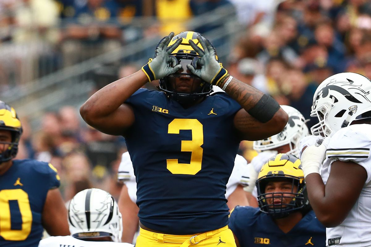 20bccd0eb66 NFL Mock Draft 2019  Atlanta Falcons take Rashan Gary - Bleeding ...