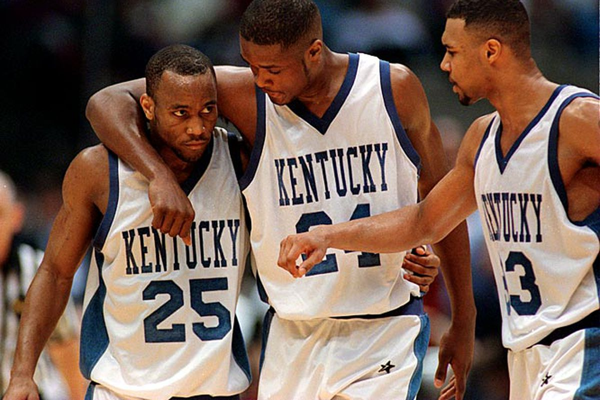 74fd7bdcf Ranking the 10 best uniforms in Kentucky basketball history - A Sea ...