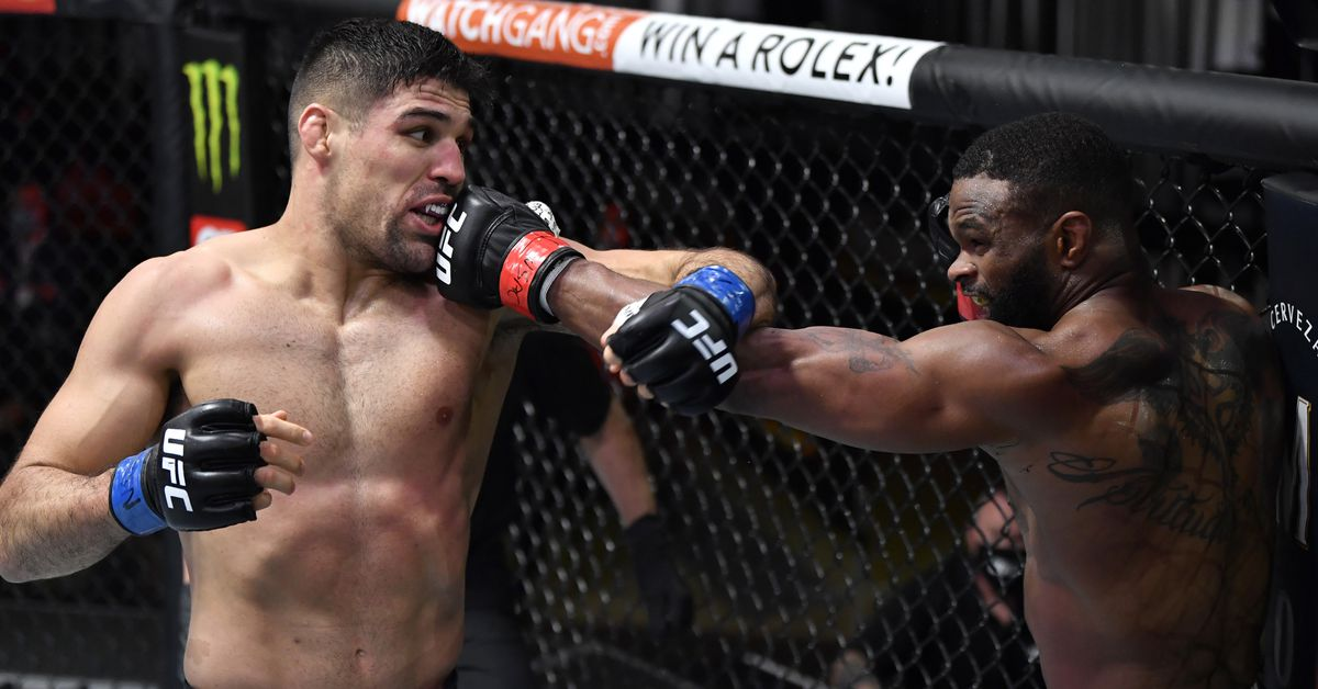 Tyron Woodley vs. Vicente Luque full fight video highlights - MMA Fighting