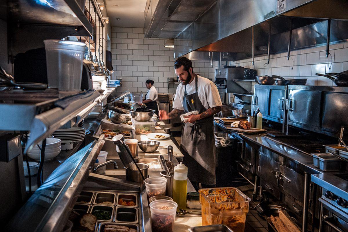 King + Duke exec chef Joe Schafer at the Optimist.