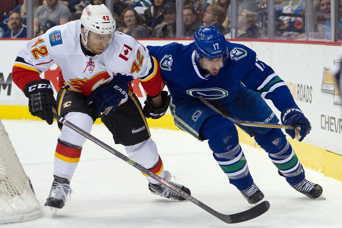 Flames defenceman Mark Cundari will suit up for the Chicago Wolves in the AHL post-season.