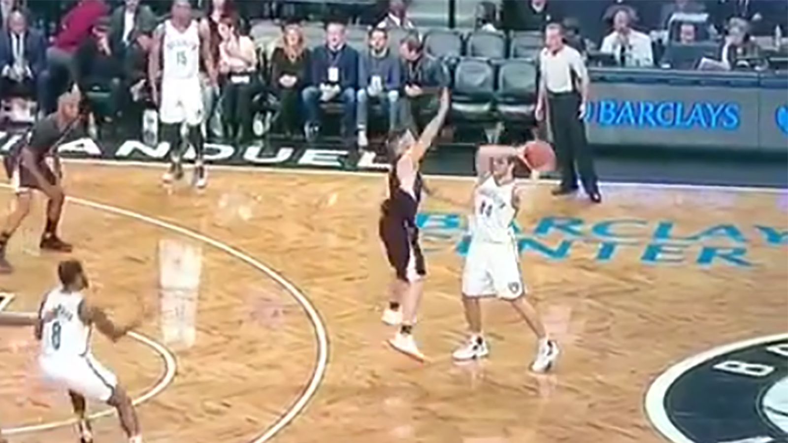 NBA ref misses the most obvious double dribble despite ...