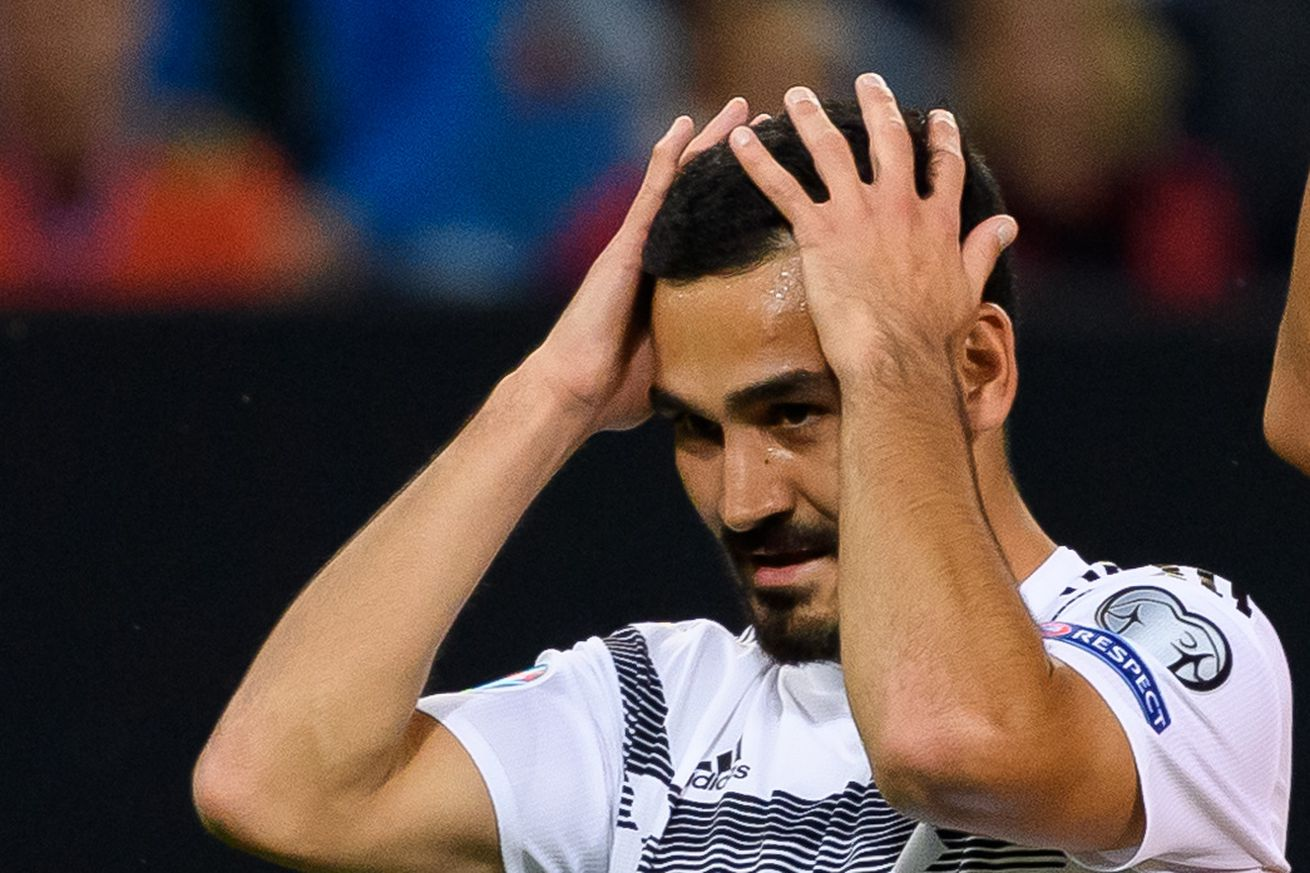 Man down: Germany?s ?lkay Gündo?an out with stomach problems