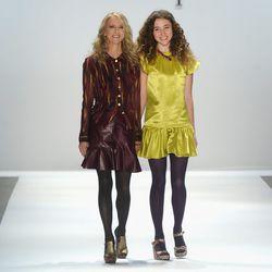 Nanette Lepore and daughter Violet