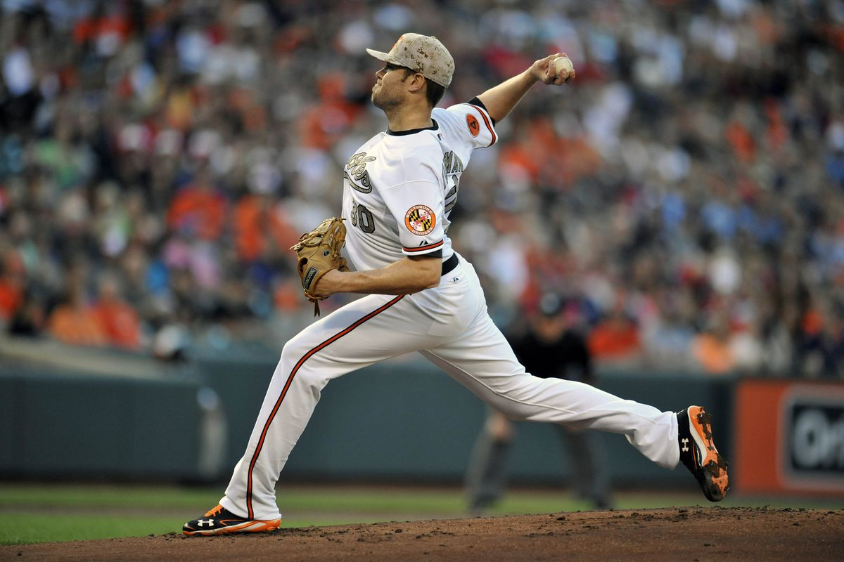 Chris Tillman gave up just 3 hits to go with 5 MILLION walks. OK, not quite 5 million. It just felt that way.