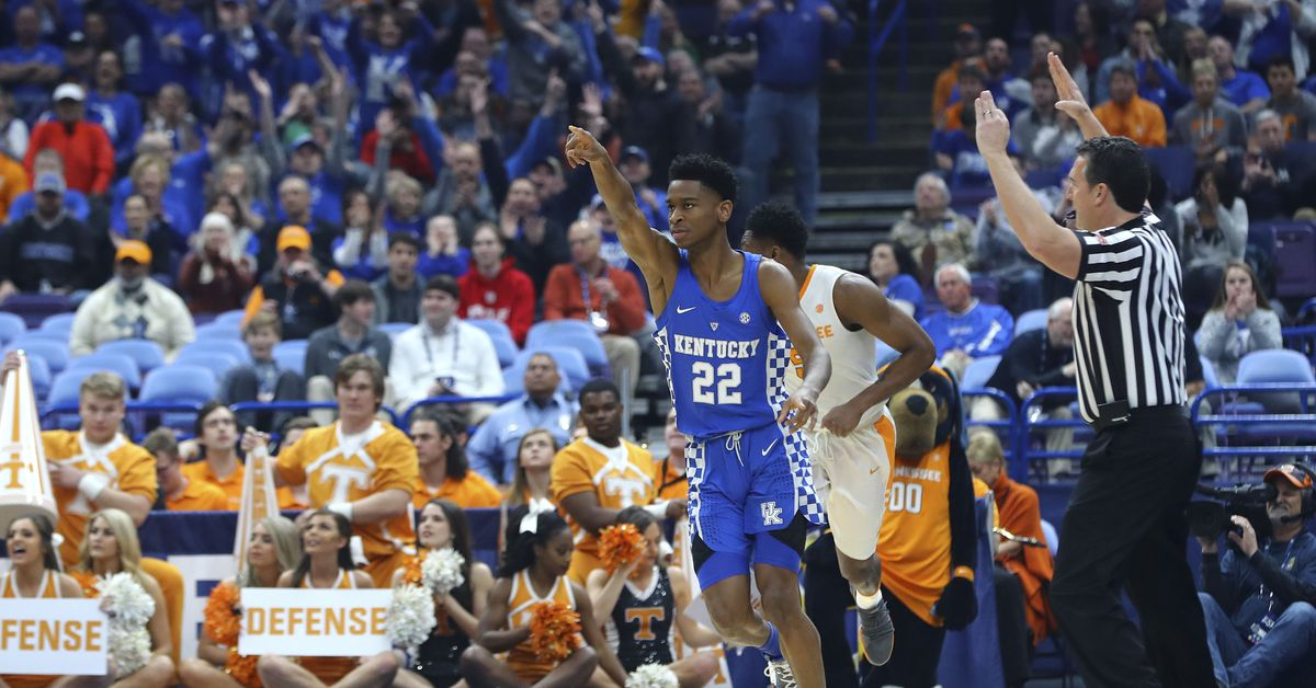 Kentucky Basketball Named Preseason Favorite For Sec Crown: UK Basketball: 5 More Thoughts And Postgame Notes From SEC