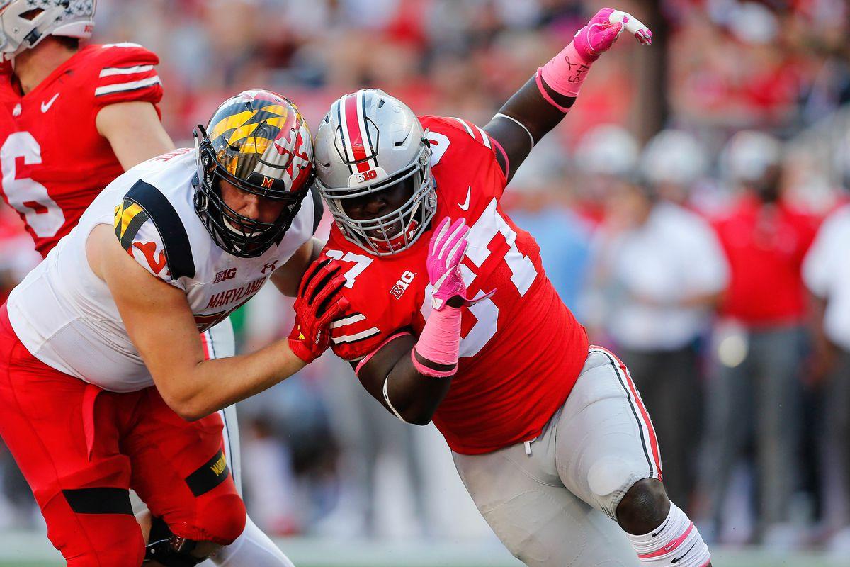 NCAA Football: Maryland at Ohio State