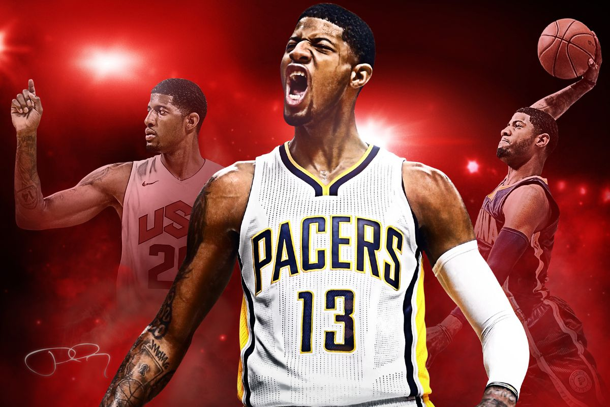 243cc050f958 Indiana Pacers star Paul George lands cover of NBA 2K17 - Polygon