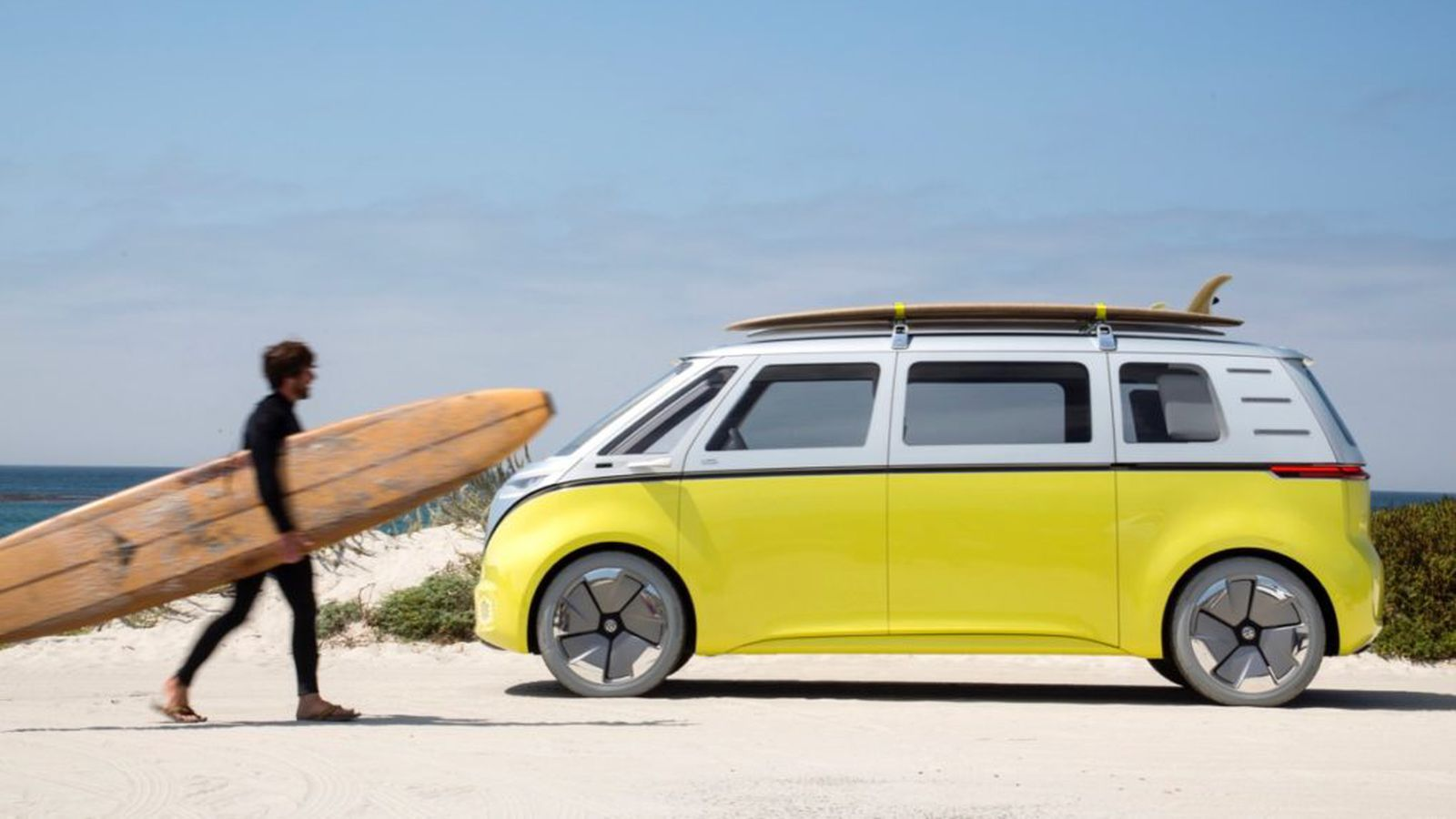 Volkswagen is making an electric, autonomous version of its classic minibus - Curbed