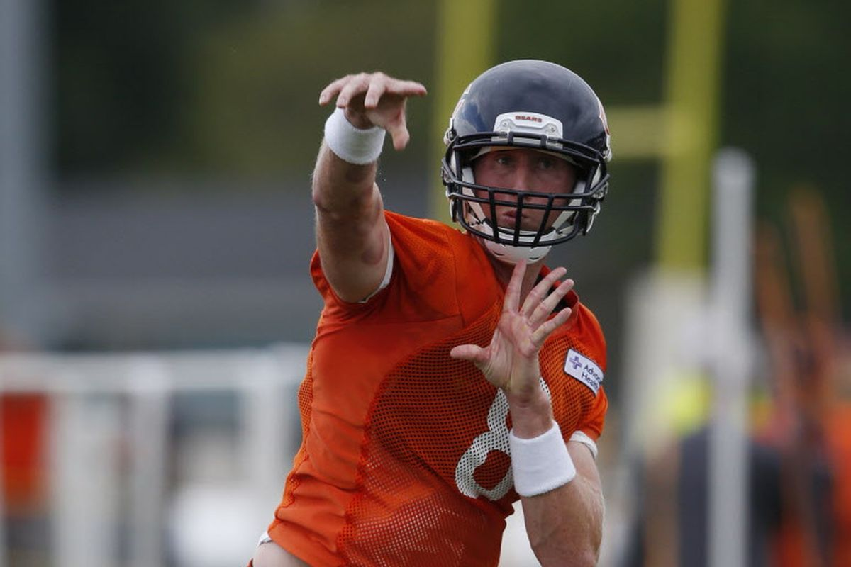 separation shoes 6b5c6 8c9f9 Bears have a leader in Mike Glennon, but do they have a ...