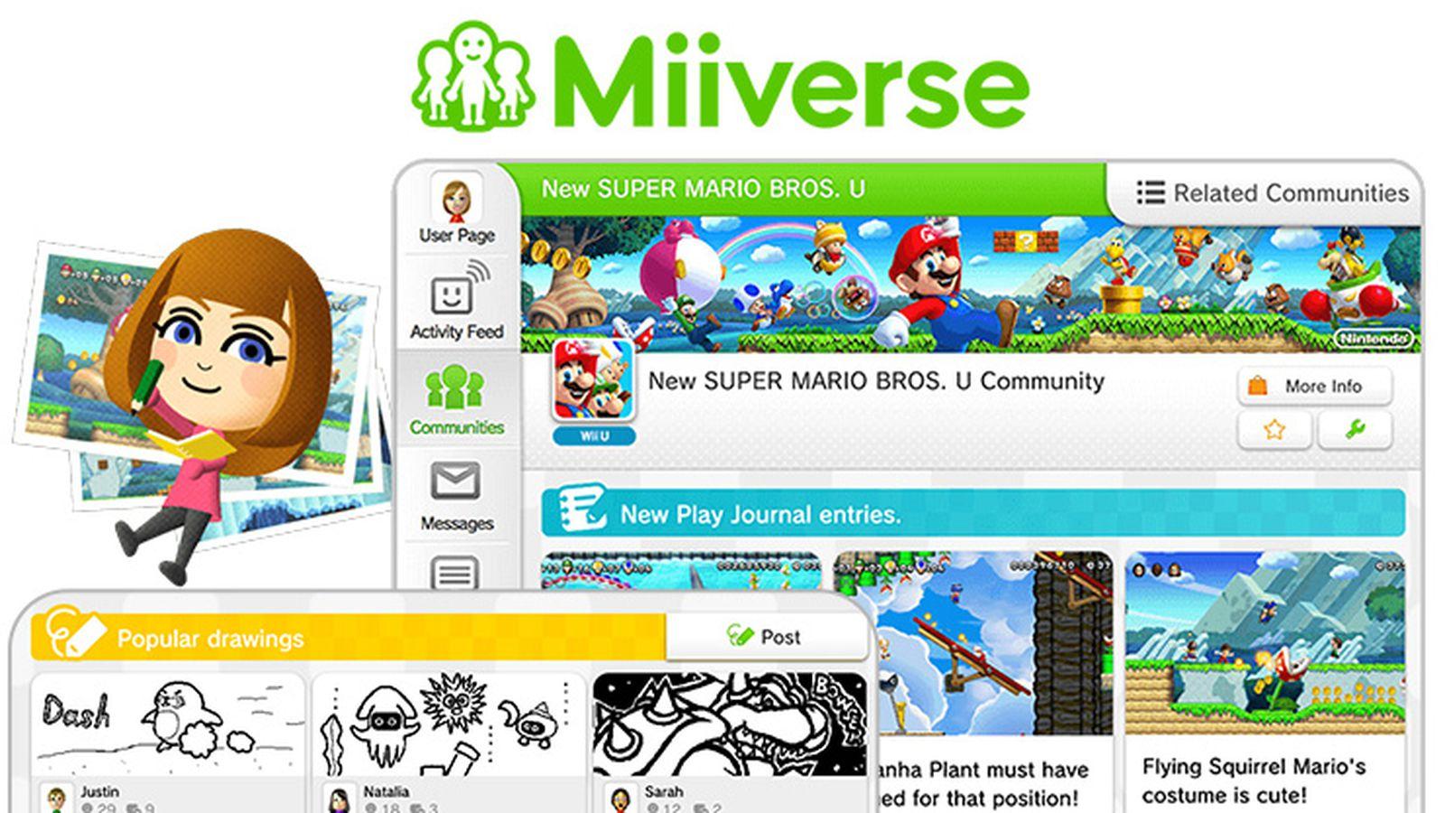 Nintendo is Killing its Miiverse Social Network