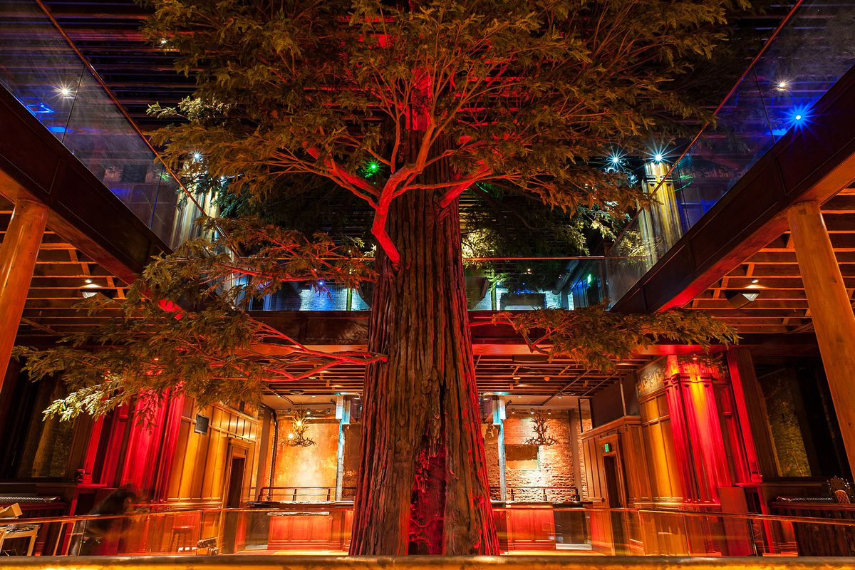 All The Intel On Clifton S Cafeteria S Festive New Tiki