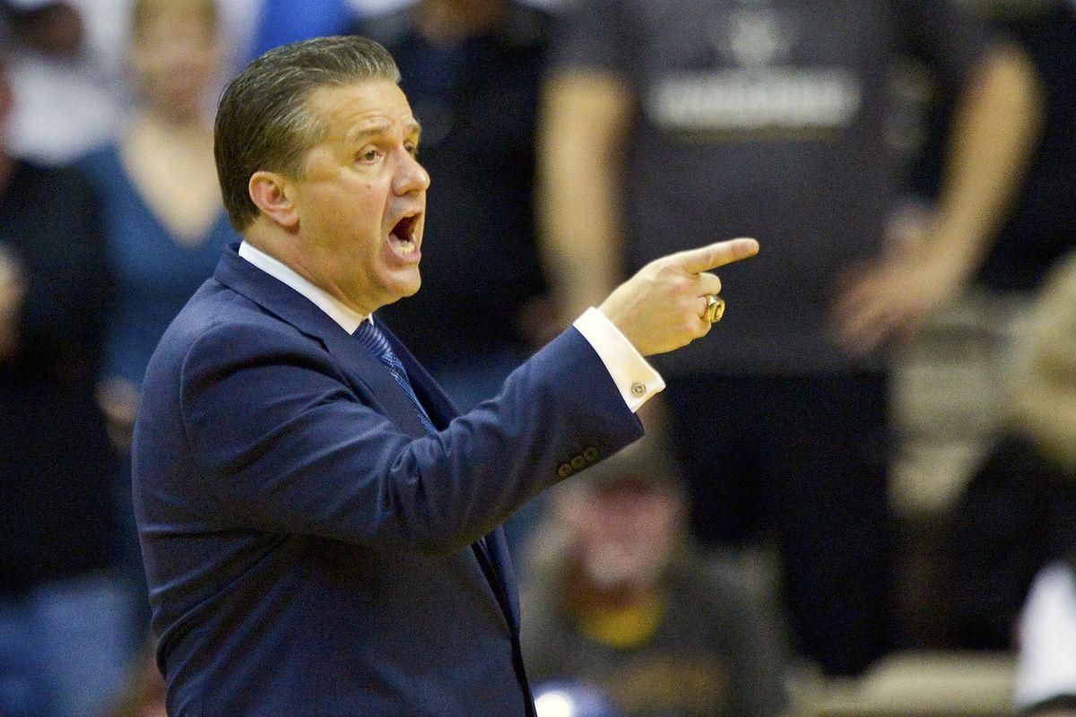 NCAA Basketball: Kentucky at Vanderbilt