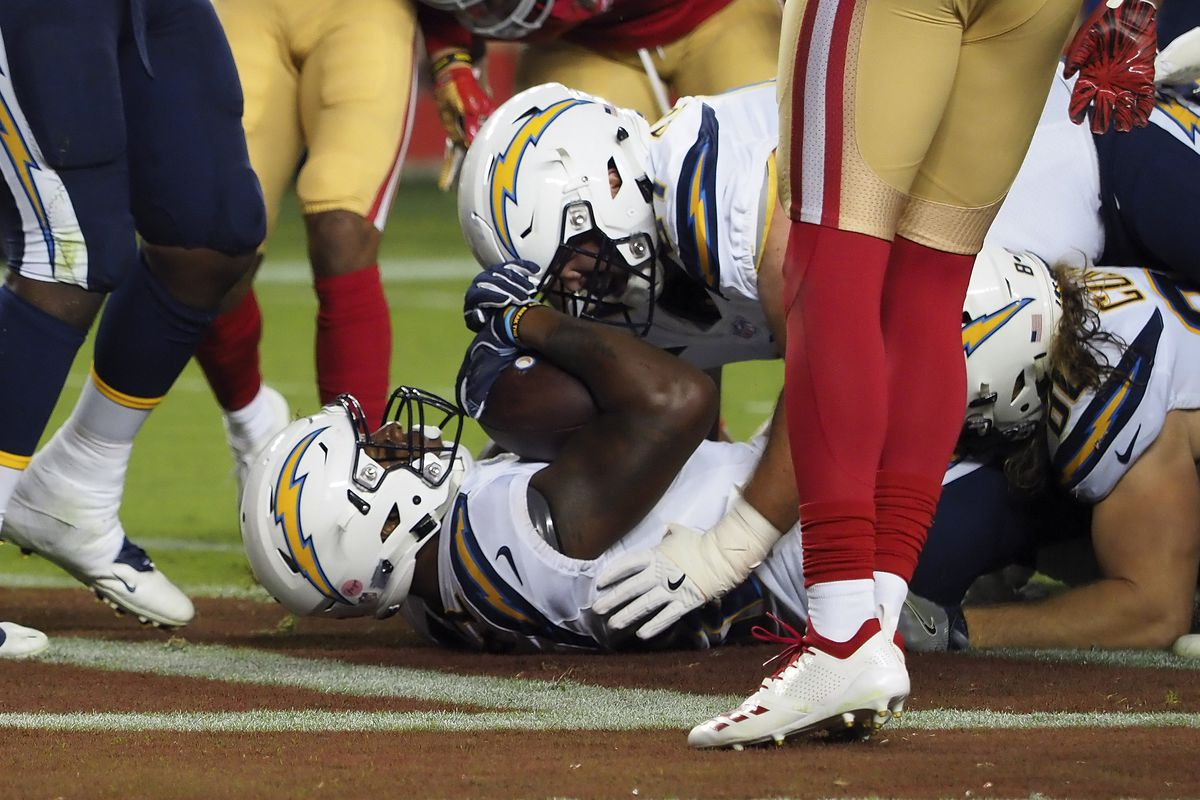 Chargers 49ers Final Score Los Angeles Chargers Defeat