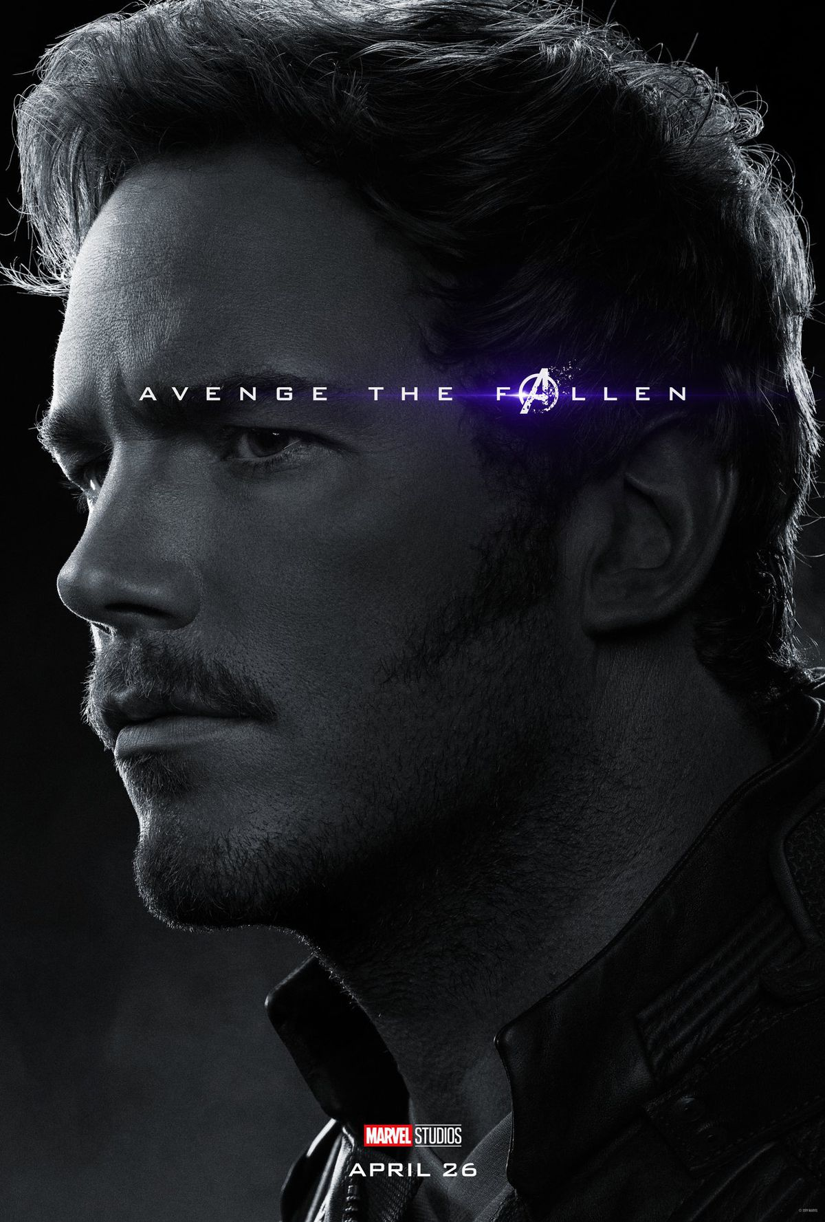 Image result for marvel character poster endgame starlord