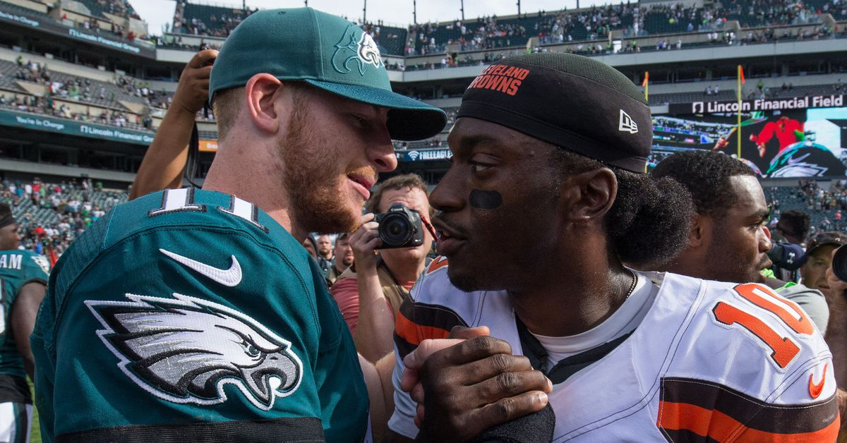 RG3 thinks the Eagles should give him a chance