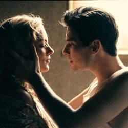 """This film image released by CBS Films shows Nora Arnezeder, left, and Ben Barnes in a scene from """"The Words."""""""