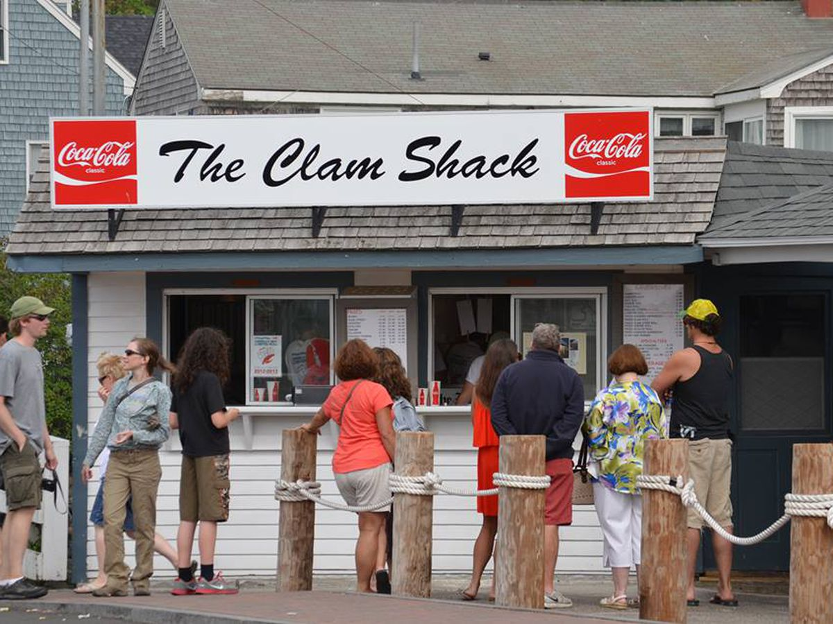 The lines get long in the summer at The Clam Shack