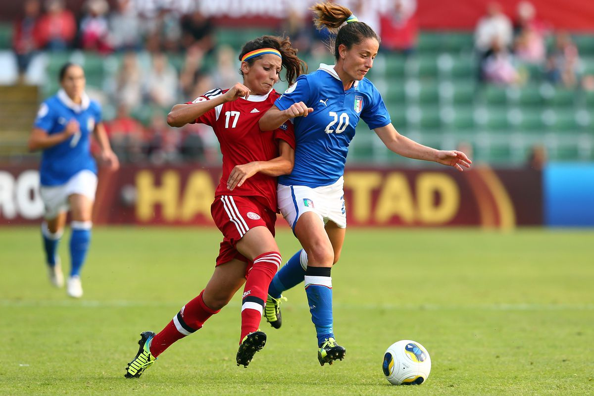 Forward Nadia Nadim has scored several goals on the road for Portland Thorns FC and will look to take her tally to five goals on the year Saturday.