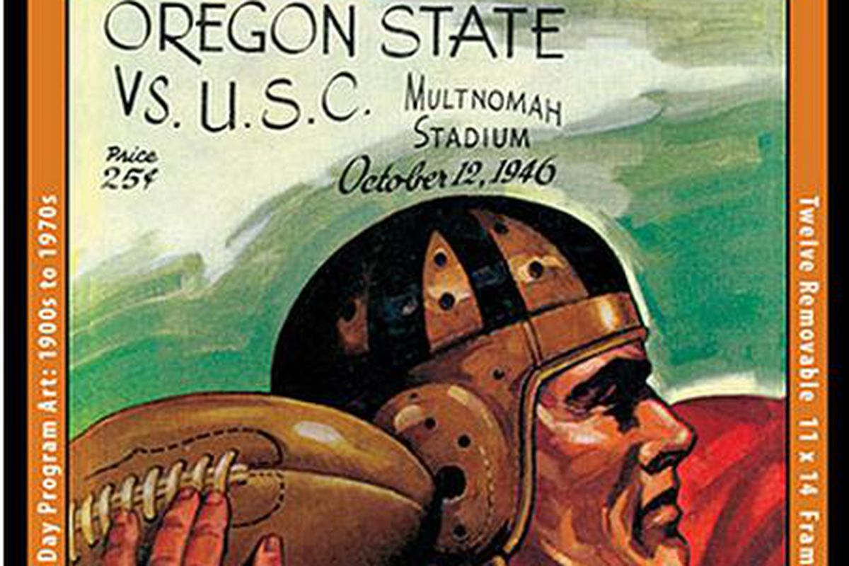 A 2014 Vintage Oregon St. Calendar makes a great Christmas gift, for yourself or others.