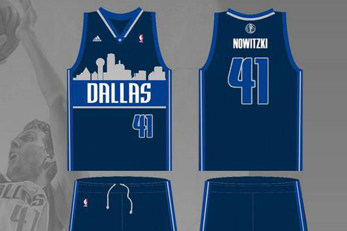 aeddf7fabe1c Mavericks introduce new alternate jerseys with Dallas skyline for the 2015-16  season